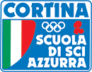Logo Scuola Sci Azzurra - Cortina d'Ampezzo